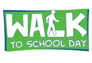 Walk to School Day Wed., Oct. 10