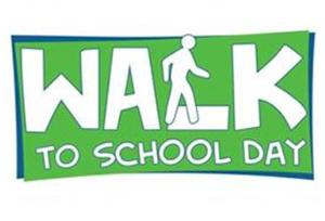 Walk to School Day Wed., Oct. 10